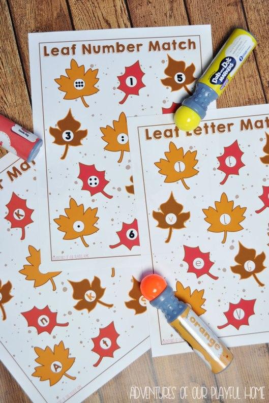 leaf-match-activity-sheet-3